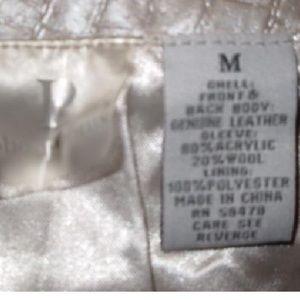 phosphorus Jackets & Coats - Phosphorus sweater/leather Zip Jacket